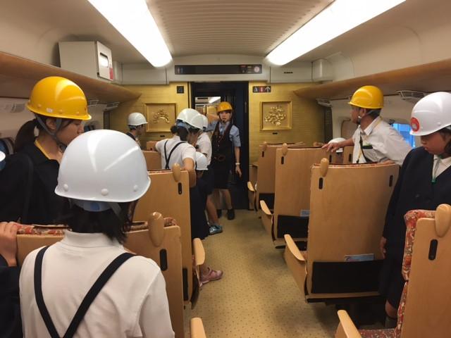 修学旅行1  日目〜JR九州熊本総合車両所〜