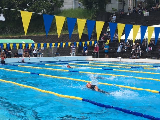 長島町水泳記録会